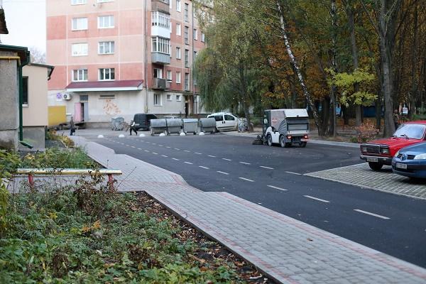 В Тернополі облаштували ще одну екопарковку (Фото)