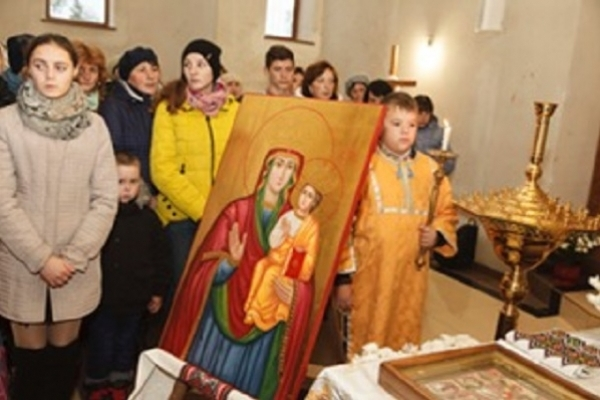 В храмі на Тернопільщині молитимуться до нової ікони (Фото)