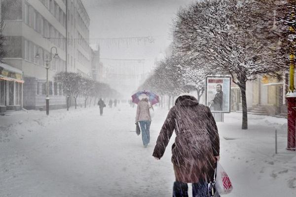 Мокрий сніг та ожеледиця: на Тернопільщині прогнозують погіршення погодних умов