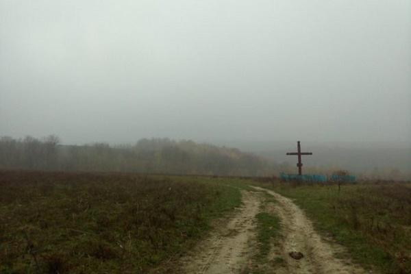Таємничий пам'ятник посеред поля знайшли на Тернопільщині