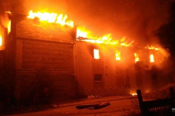 В Тернополі на Гайові сталася жахлива пожежа
