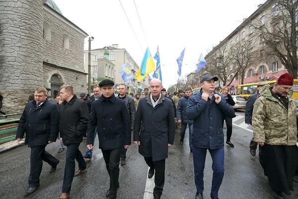 Тернопіль відзначив 99-ту річницю створення ЗУНР