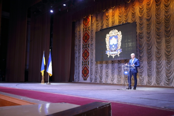 Міський голова Тернополя прозвітував перед громадою за роботу у 2017 році (Фото, відео)