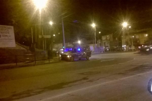 В Тернополі чергова аварія за участю камуфльованого автомобіля