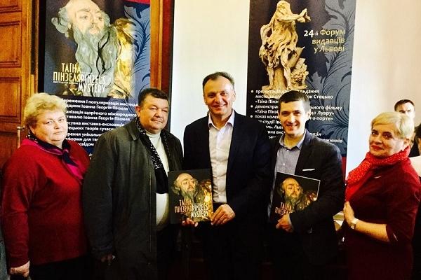 Творчість тернопільського барокового генія Пінзеля знайшла прихильників у Чернівцях