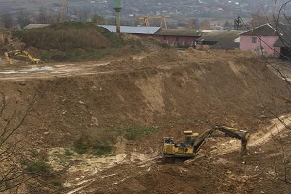 На Тернопільщині СБУ припинила незаконний видобуток корисних копалин