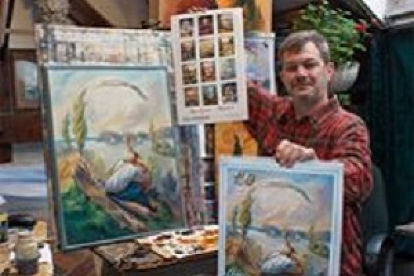 Незвичний календар створив відомий художник з Тернопільщини