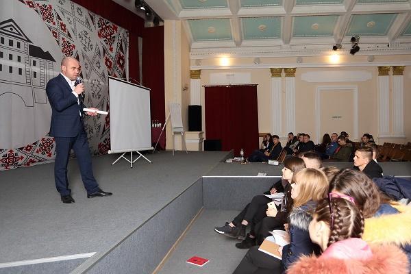 Сергій Надал зустрівся з учасниками акції «Студентська доба»
