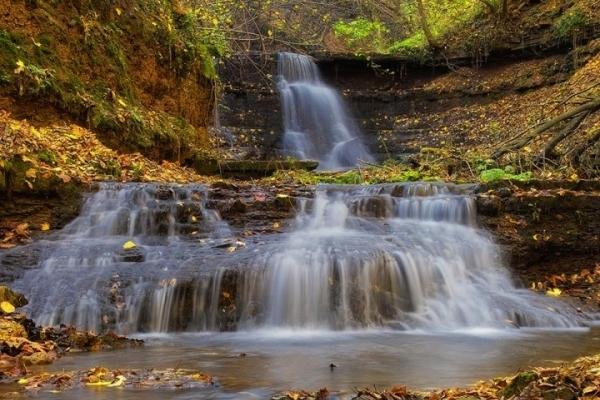 Найбільший рівнинний водоспад України розташувався на Тернопільщині