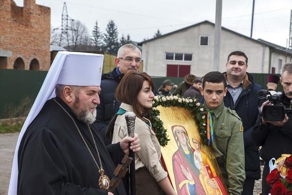 Для нового храму на Тернопільщині – нову ікону