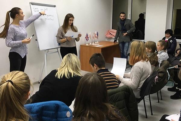 Для дітей бійців АТО безкоштовно проводять курси англійської мови