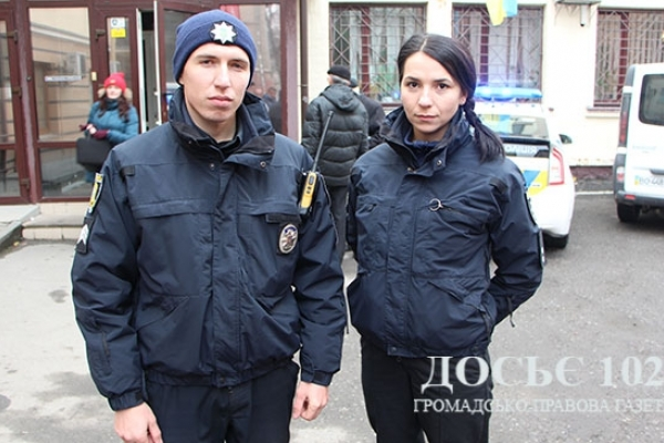 За фактом нападу на патрульних поліцейських Тернополя відкрито кримінальне провадження