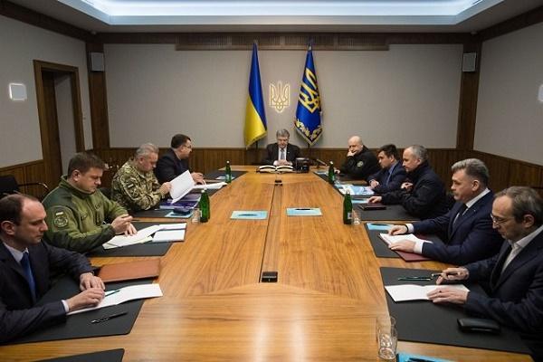 Порошенко скликав позачерговий Військовий кабінет через ситуацію в Луганській області