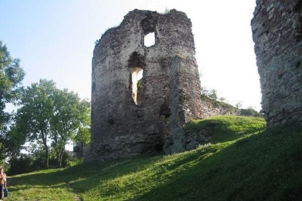 Один з замків Тернопільщини розбирають на будматеріали