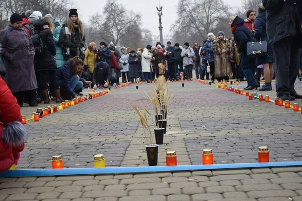 У Тернополі вшанували пам'ять жертв голодоморів (Відео)