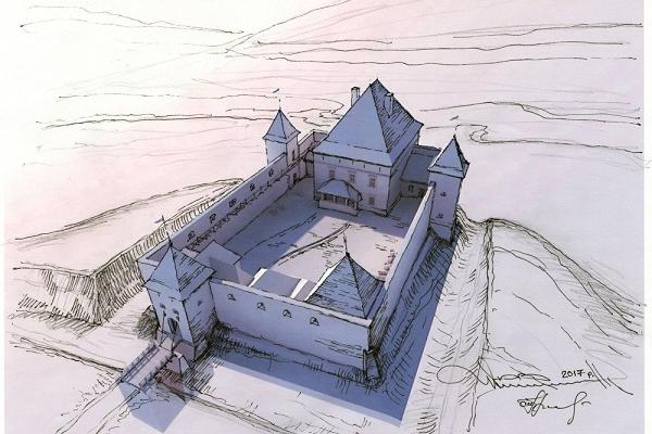 Науковці відтворили давній вигляд Тернопільського замку