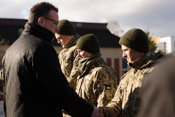 «Мрія Агрохолдинг» підтримав бійців тернопільської артилерійської бригади
