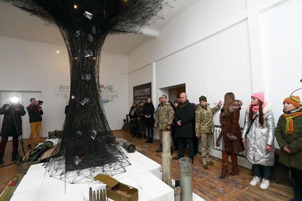 У тернопільській військовій частині відкрили першу в країні арт-студію (Фото)