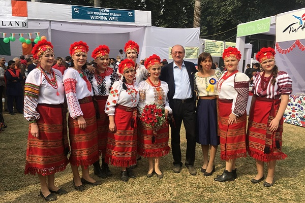 Україну представили на Міжнародному благодійному ярмарку в Індії