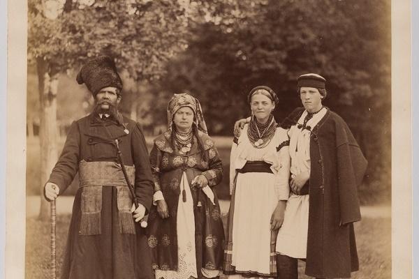 Мешканці Тернопільщини на фото 1870-х років