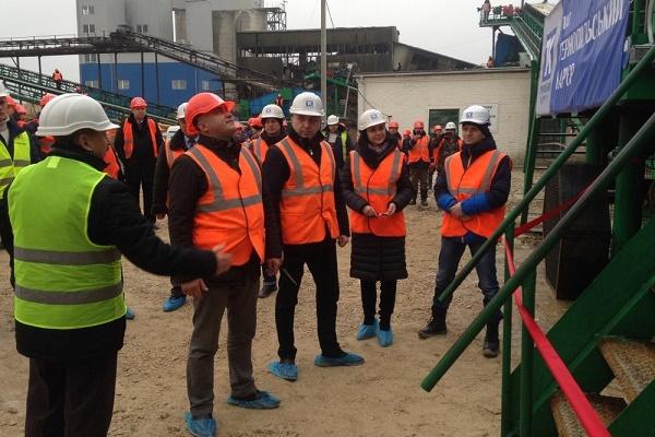 На Тернопільщині відкрили одне з найбільших в Україні підприємств