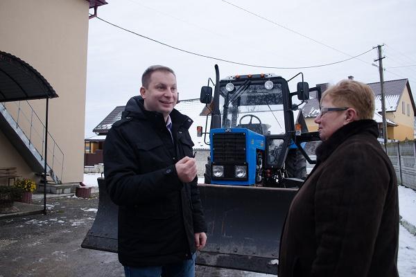 Об'єднані територіальні громади Тернопільщини реалізовують інфраструктурні проекти