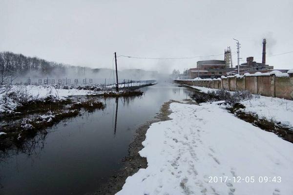 Викиди цукрового заводу можуть призвезти до екологічної катастрофи на Тернопільщині (Фото)