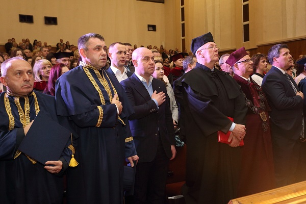 Очільник міста Сергій Надал привітав Богдана Буяка з інавгурацією на посаду ректора ТНПУ