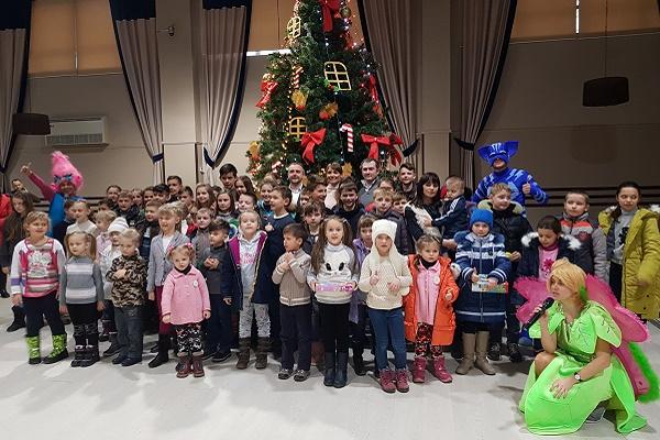 До Дня Святого Миколая для дітей бійців АТО організували свято