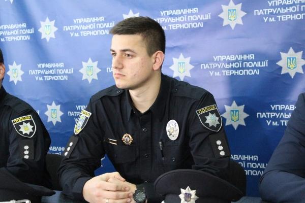 Очільник патрульної поліції в Тернополі Богдан Шевчук розповів про «стосунки» поліції, таксистів і пасажирів (Відео)