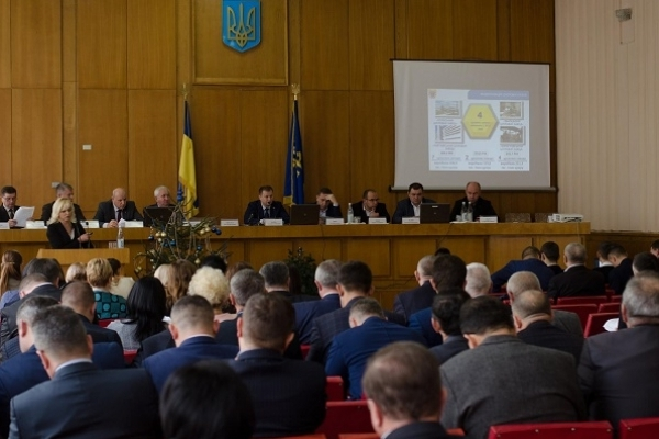 Під час засідання колегії облдержадміністрації підбили підсумки роботи області за рік (Фото)