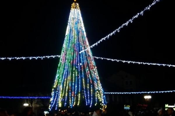 Яким Тернопіль був у новорічну ніч (Фото, відео)