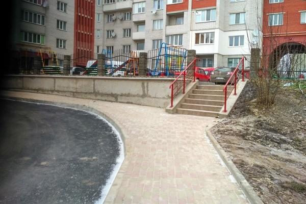 У Тернополі на Галицькій облаштували новий тротуар