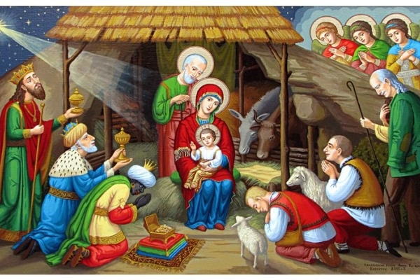 7 січня - Різдво Христове, велике християнське свято, день народження Ісуса Христа