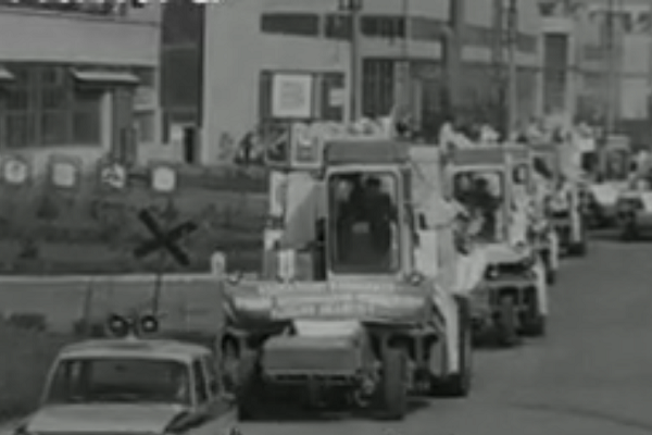 Відео тернопільських комбайнів 1978 року
