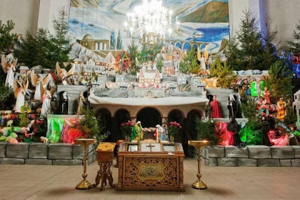 У Тернополі «ожила» найкрасивіша в Україні шопка