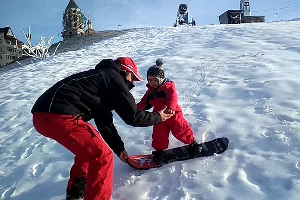 У Тернополі розпочато виробництво снігу - доступ для всіх вільний