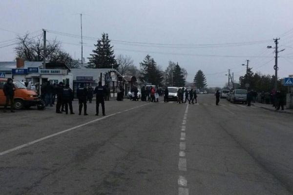 На українсько-польському кордоні – акції протесту