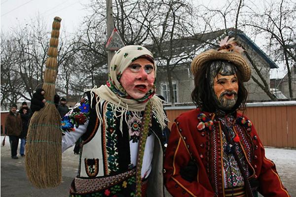 Сьогодні, 13 січня, села Горошова і Устя Борщівського району запрошують на свято Маланки
