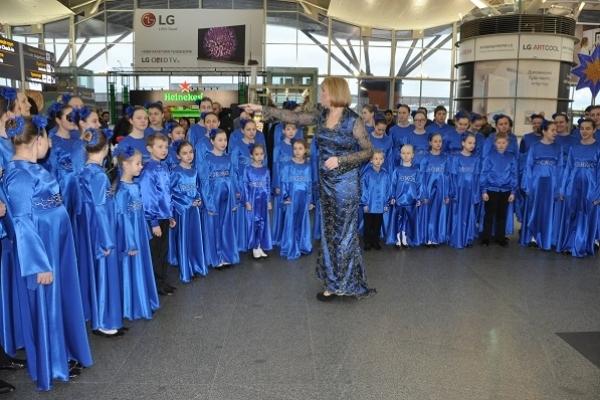 Чому порушився звичайний ритм роботи аеропорту Бориспіль (Фото)