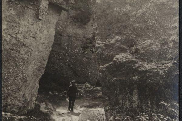 Дівочі Скелі в Кременці на старих фото