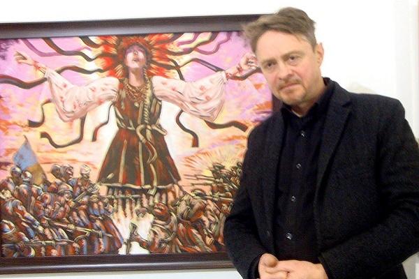 Відомий художник з Тернопільщини Олег Кіналь долучився до Всеукраїнського історичного Бієнале