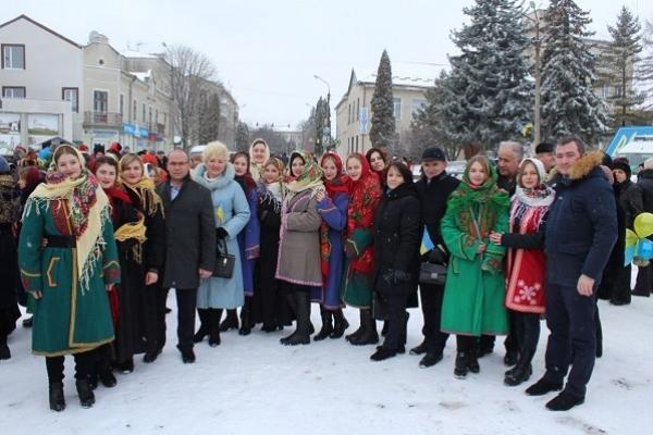 На Тернопільщині відзначили День Соборності України