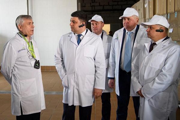Володимир Гройсман у Тернополі зустрівся з міським головою Сергієм Надалом