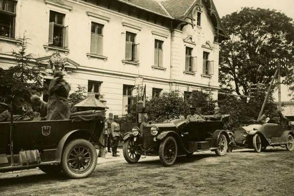 Фото Зборова часів війни (1914-1918)