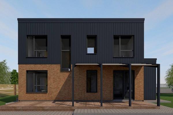 Тернопільський архітектор спроектував приватний будинок схожий на театр