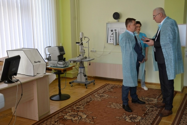 Дитячій клінічній лікарні передали нове обладнання на чверть мільйона гривень