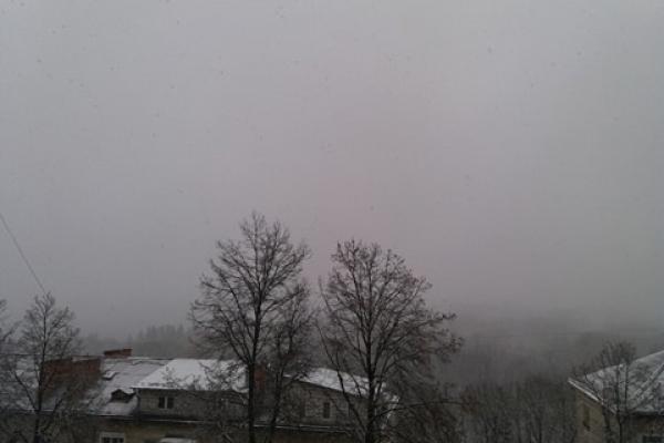 Тернопільщину засипає снігом (Відео)