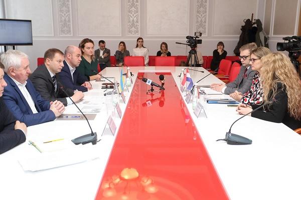 Міський голова Сергій Надал зустрівся з Почесним консулом Королівства Нідерландів