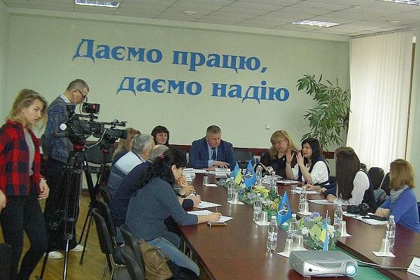 Керівництво Тернопільського обласного центру зайнятості провело прес-конференцію